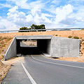 Box culverts. The solution to lower passages